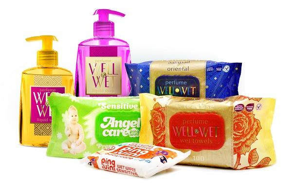 парфюмированные салфетки
