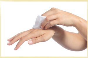 влажные салфетки для рук