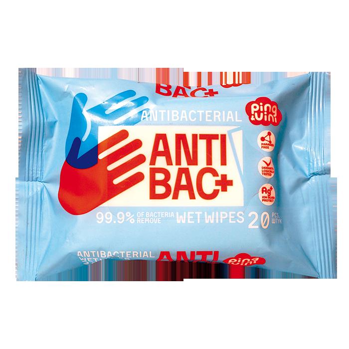 Ping&Vini Антибактериальные, 20 шт