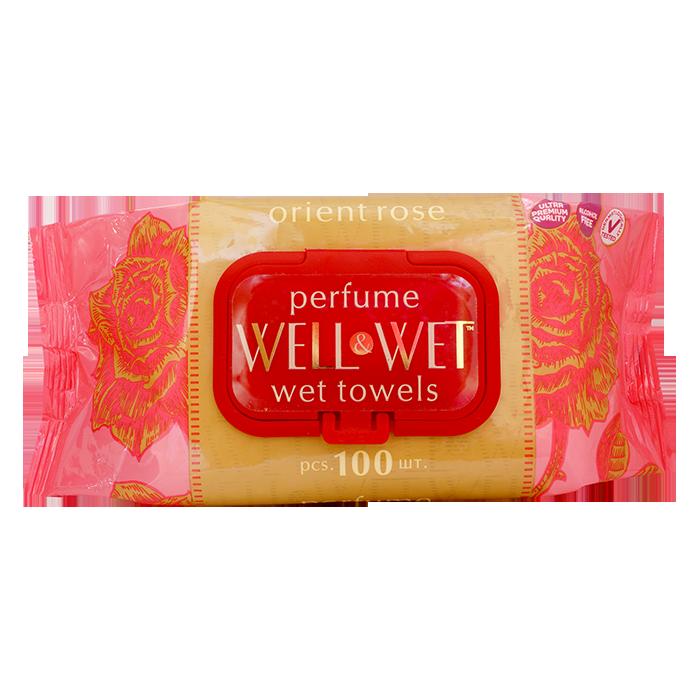 Well&Wet Роза Ориент, 100 шт