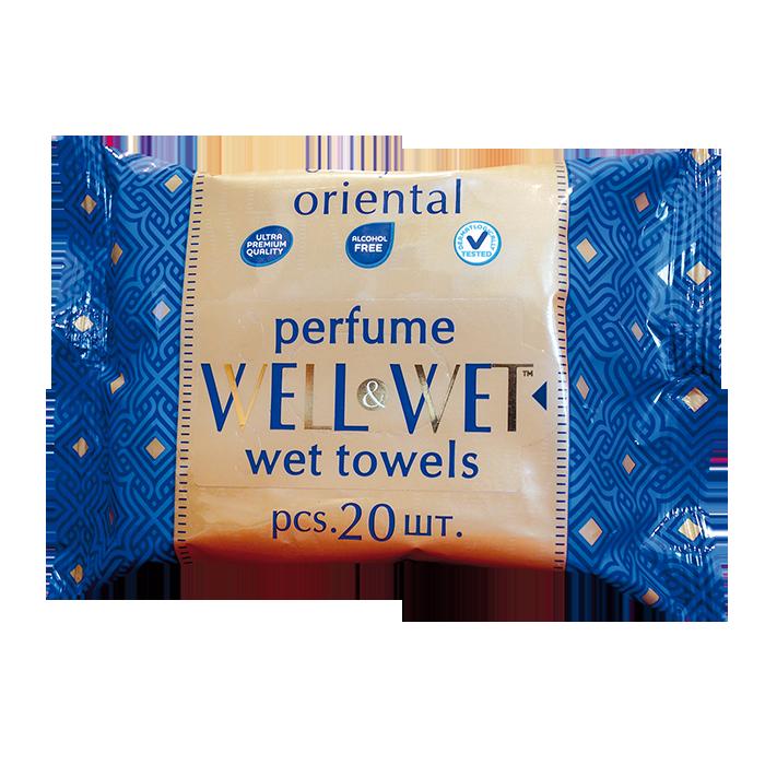 Well&Wet Восточный парфюм, 20 шт